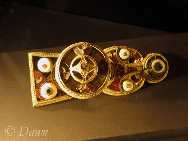 A large brooch from the Vanir display