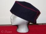 "wool ""pillbox"" hat"