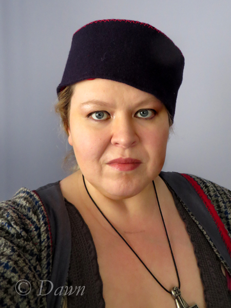 Norse Pillbox hat