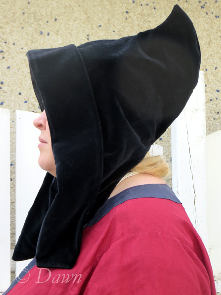 The second, larger hood