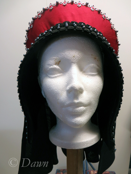 First French Hood, front view
