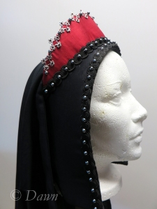 First French Hood, side view
