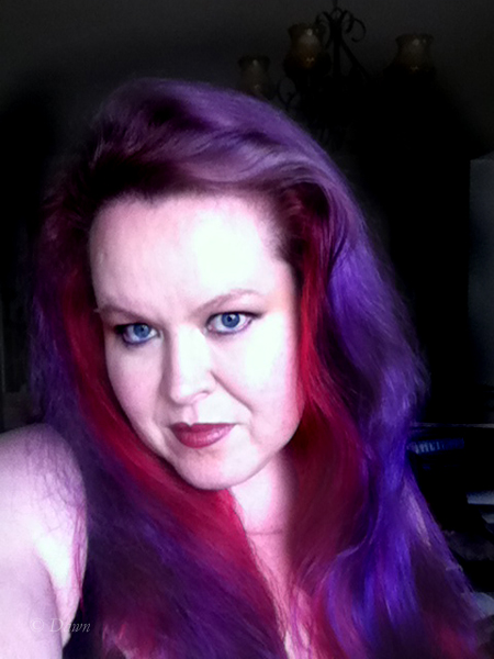 Went purple and red instead (June 2015)