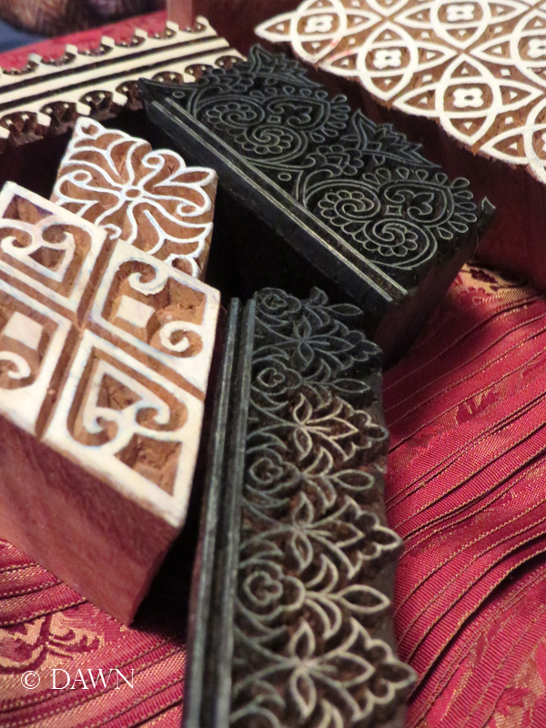 Block printing blocks from Etsy