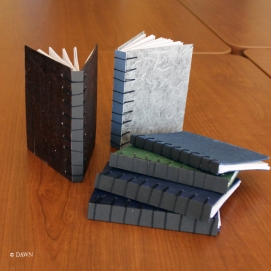 Notebooks for largess