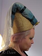 Horned Headdress side view.