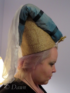 Horned Headdress side view.