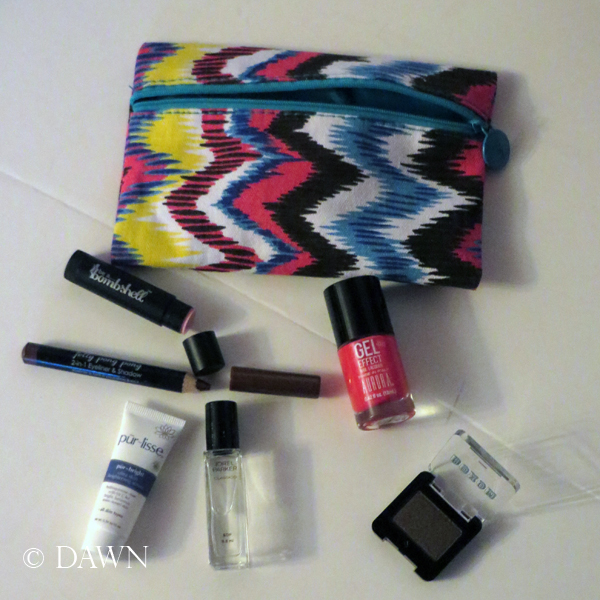 my July 2015 ipsy glam bag, along with my points purchase