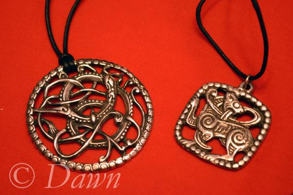 Viking-style pendants