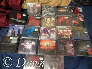 New CDs from Finland - 25 discs in total of (mostly Finnish) metal (and some rock)