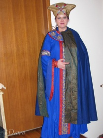 11th Century Byzantine costume (without hat)