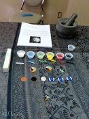 Another competitor's enamel work