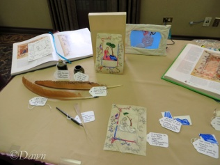 Another competitor's scribal arts