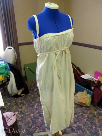 Another competitor's chemise