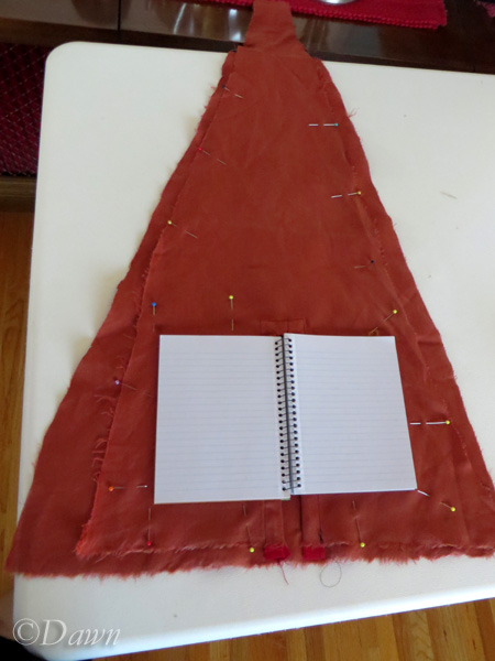 Making the book 'bag'