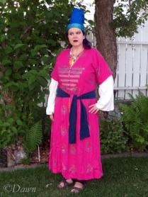 selfie in my Turkish Ottoman Empire costume
