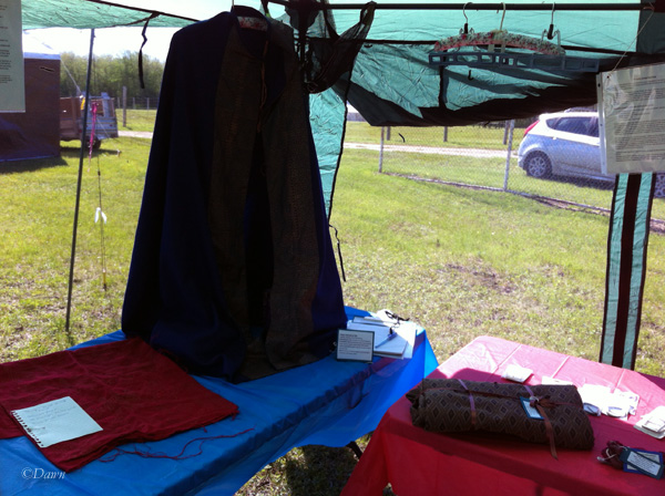 My sunshade at June Crown with A&S activities