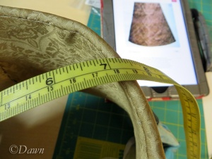 Measuring my existing hat