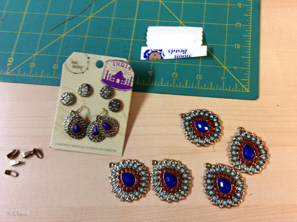 Components to make my Istanbul-feel necklace