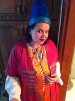 iPhone selfie in my Turkish Ottoman Empire costume