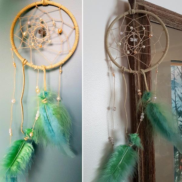 Dreamcatcher from Tiffany and the Craft Swap