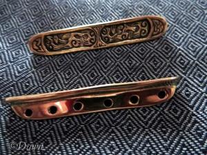 Gotland-style bead spreaders from Nordens Historiska Fynd