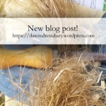 New blog post about breaking down hemp fibre for spinning