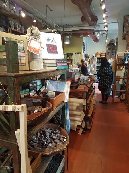 Inside Maiwa Supply in Vancouver's Granville Island