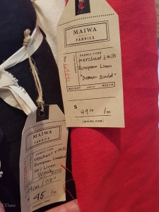 Linen fabric for sale at Maiwa Supply