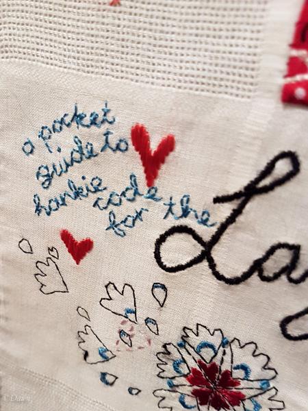 Subversive embroidery