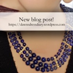 Lapis Lazuli necklace in the style of Egyptian Middle Kingdom examples