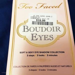 Two Faced Boudoir Eyes mini-palette