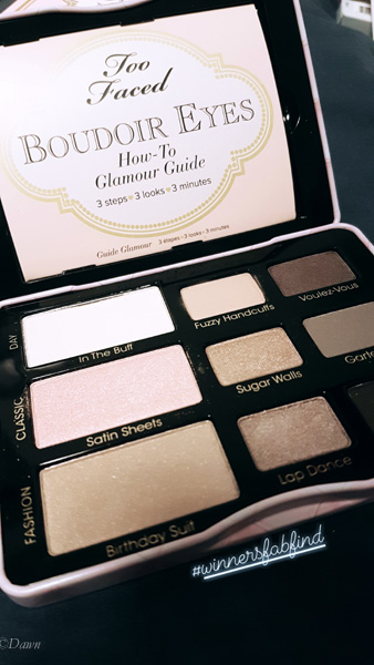 Two Faced Boudoir Eyes mini-palette