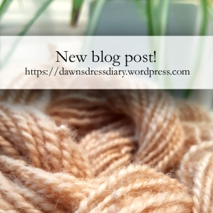 Check out my blog post about dyeing handspun wool yarn for knitting, crochet, naalbinding or weaving with apple tree bark on Dawn's Dress Diary.
