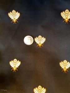 bumblebee brocade fabric for sale.