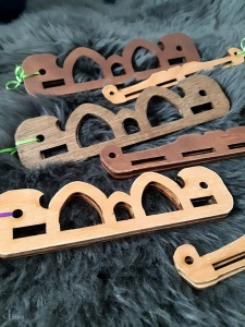 An assortment of my Hedeby-style bag handles