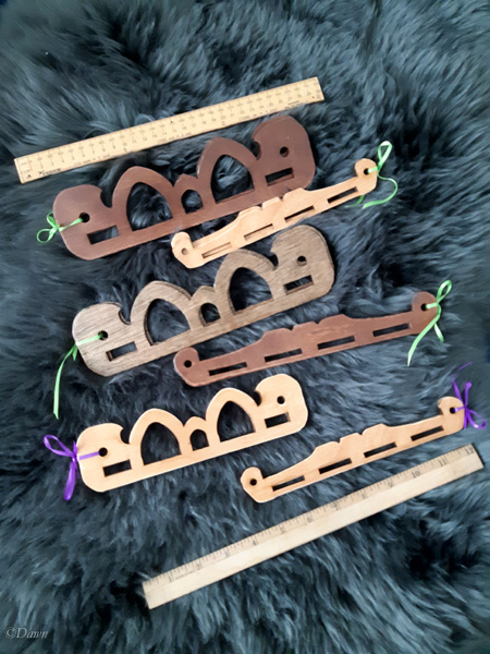 Hedeby-style bag handles available through my Facebook shop