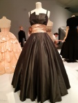 The Isabelle gown at the Dior display