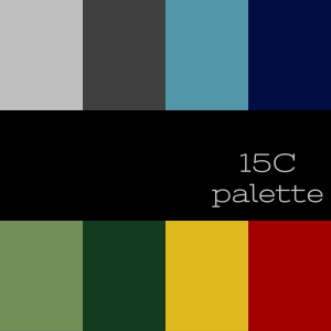 Palette for the 15th Century created on spark.adobe.com