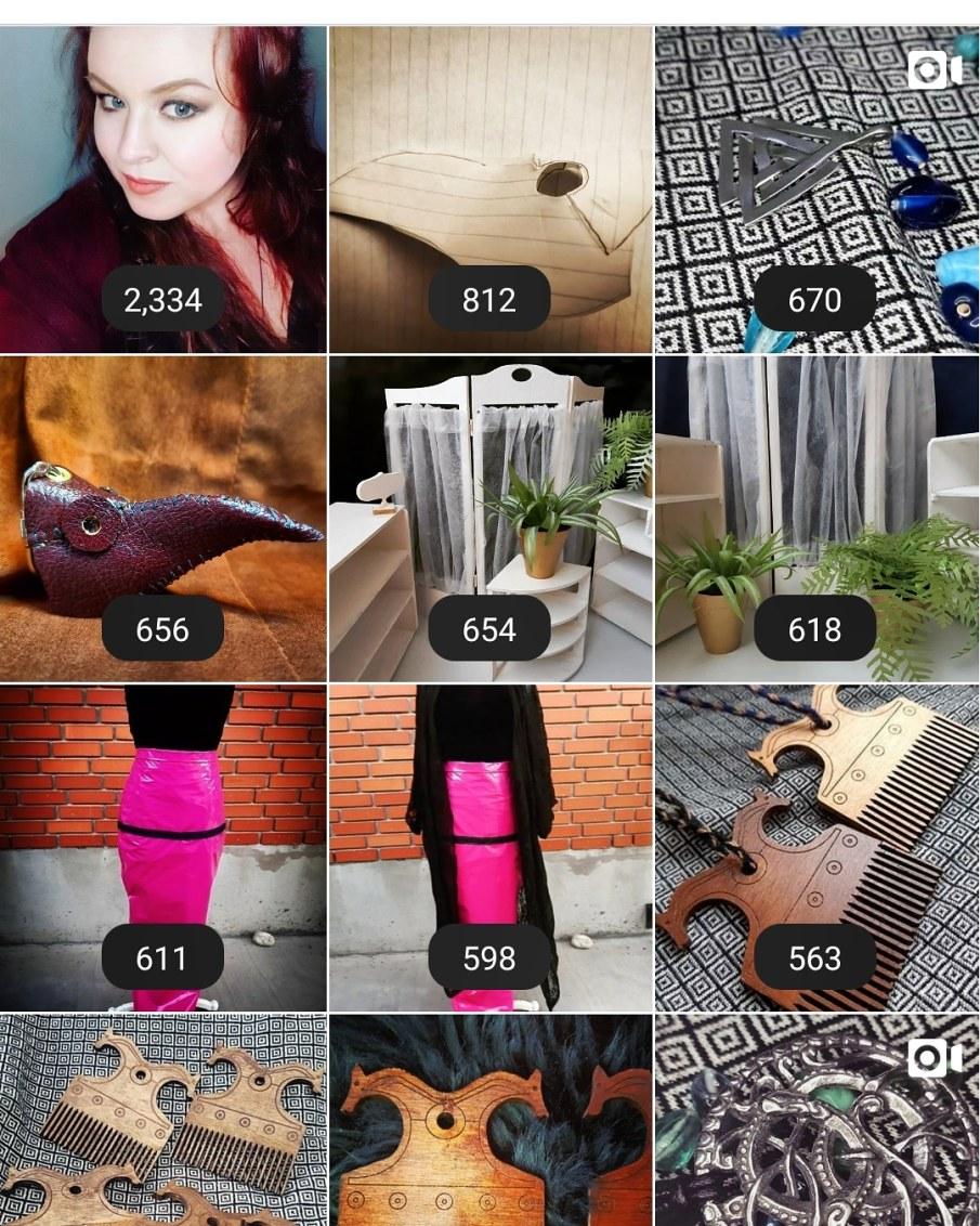 Top Nine Instagram posts for 2020