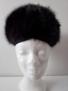 Vintage black hat for sale through my Facebook page