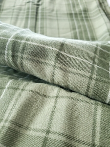 Free wool fabric on my Facebook page