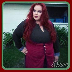 wearing my long UFO Ghawazee vest with a semi-supportive wool under dress